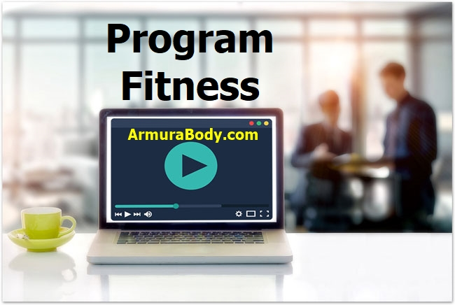 Cauti un program fitness online? acum poti face antrenament acasa sau la sala avand exercitii video. Programul fitness online este pentru acasa sau sala
