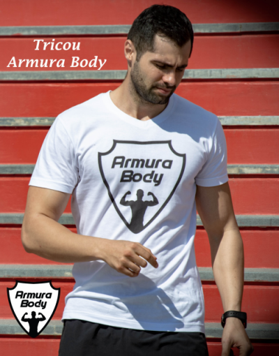 tricou Armura body cotton bumbac sport fitness sala