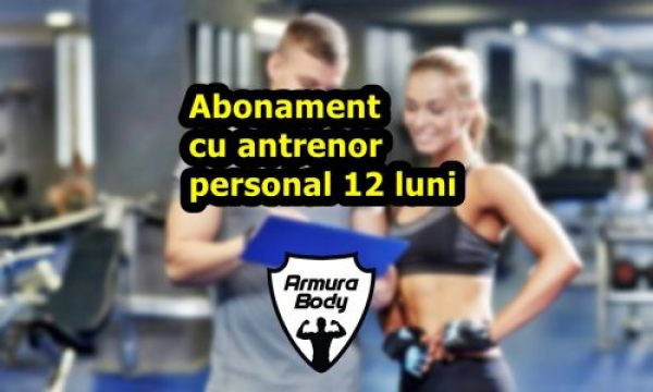 Antrenor personal trainer Bucuresti pret/ 12 luni